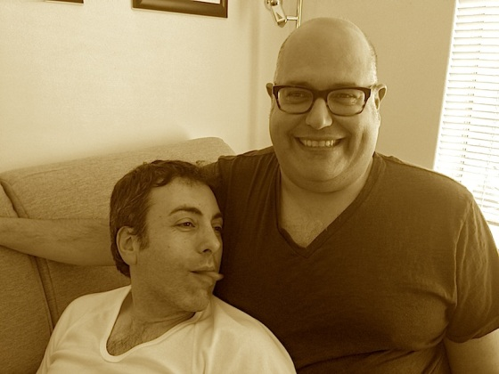 Frank and Benny New Pic 2013 SEPIA